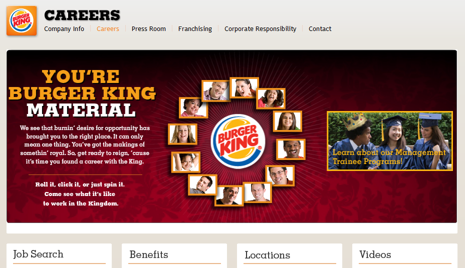 Lavora con noi Burger King