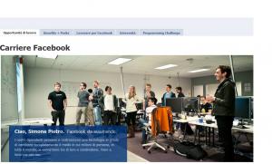 Lavora con noi Facebook