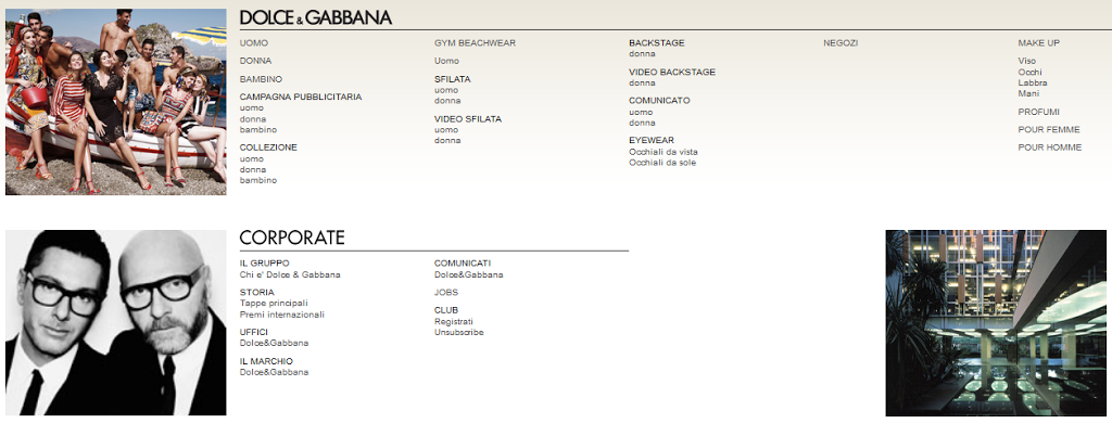 Lavora con noi Dolce e Gabbana