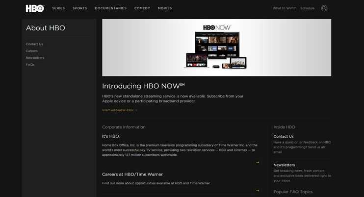 HBO Lavora Con Noi