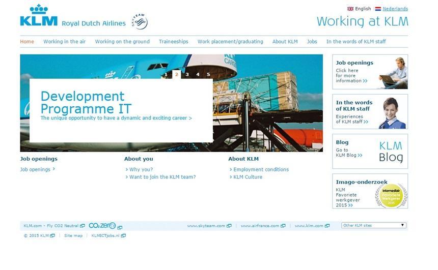 KLM Lavora Con Noi
